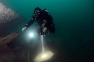 wrakduiken op de Noordzee