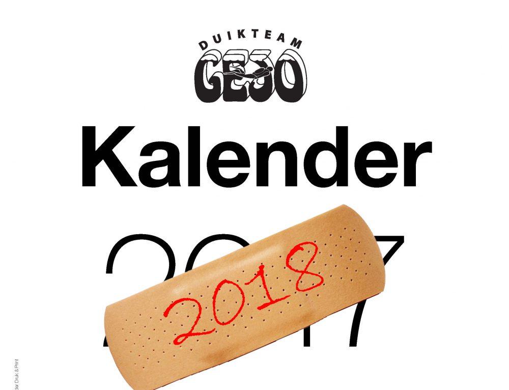 Gejo Kalender 2018 verkiezing