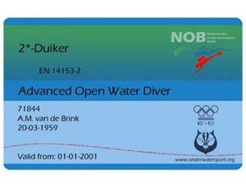 Start 2* duiker opleiding