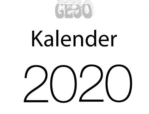Gejo's kalender verkiezing 2020